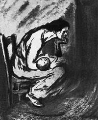 Больной ребенок (Т. Стайнлен, 1902 г.)
