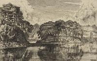 Черные острова Лох-Эвэ (Ф.Г. Хамертон, 1875 г.)
