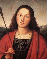 Святой Себастьян. Рафаэль, Санцио