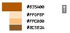 Пример сдвига цвета на одну позицию