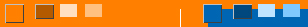 Квадрат с вариантами цветов фона и контраста