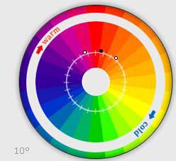 Расстояние между цветами (по умолчанию)