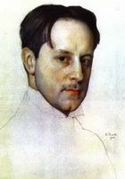 Портрет М. Добужинского (К. Сомов)