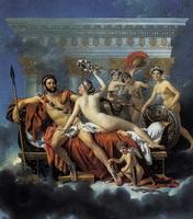 Венера, Марс и грации (Ж.Л. Давид, 1824 г.)