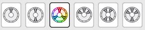 Перечень моделей цветовых схем
