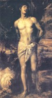 Тициан.Святой Себастьян. 1570г. Эрмитаж